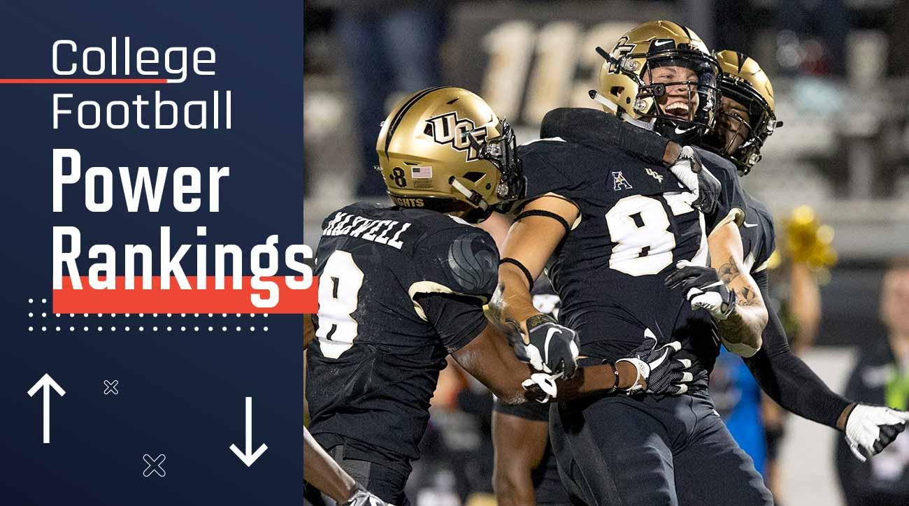College football power rankings: Top 25 playoff contenders led by UCF, Alabama, Clemson