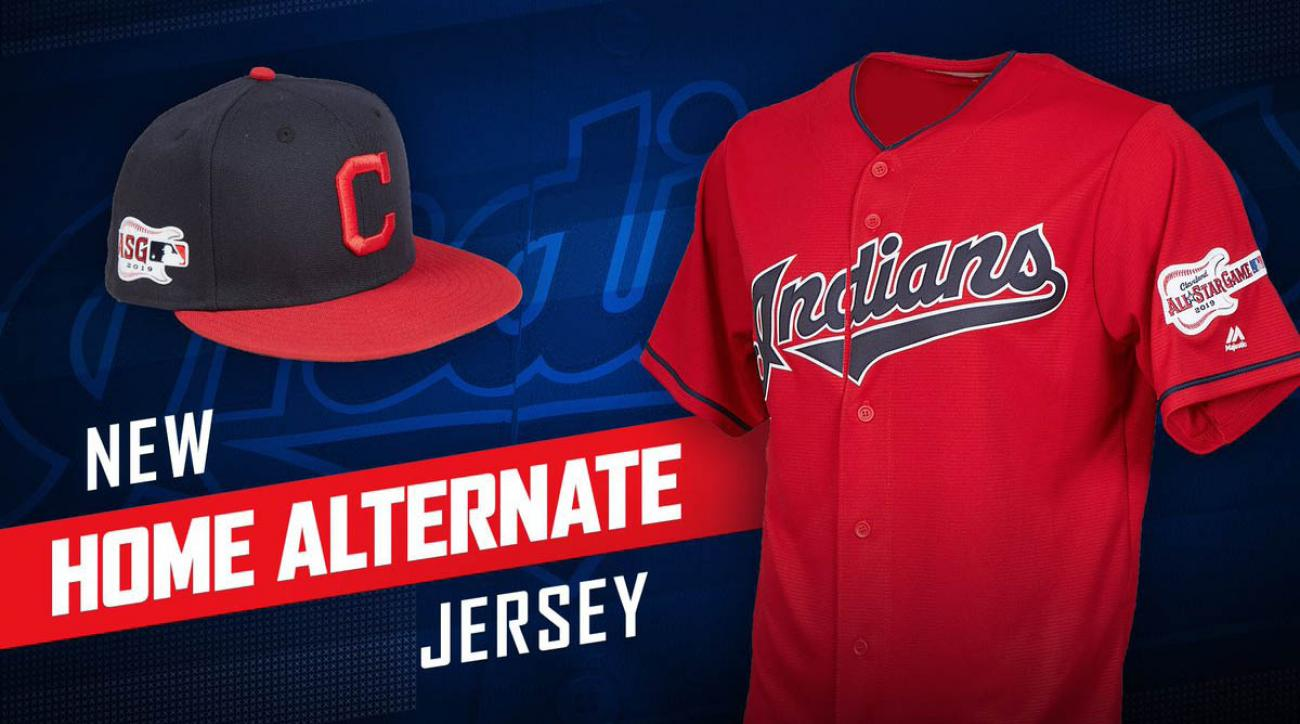 530ee021185 Indians uniforms  New home alternate jerseys