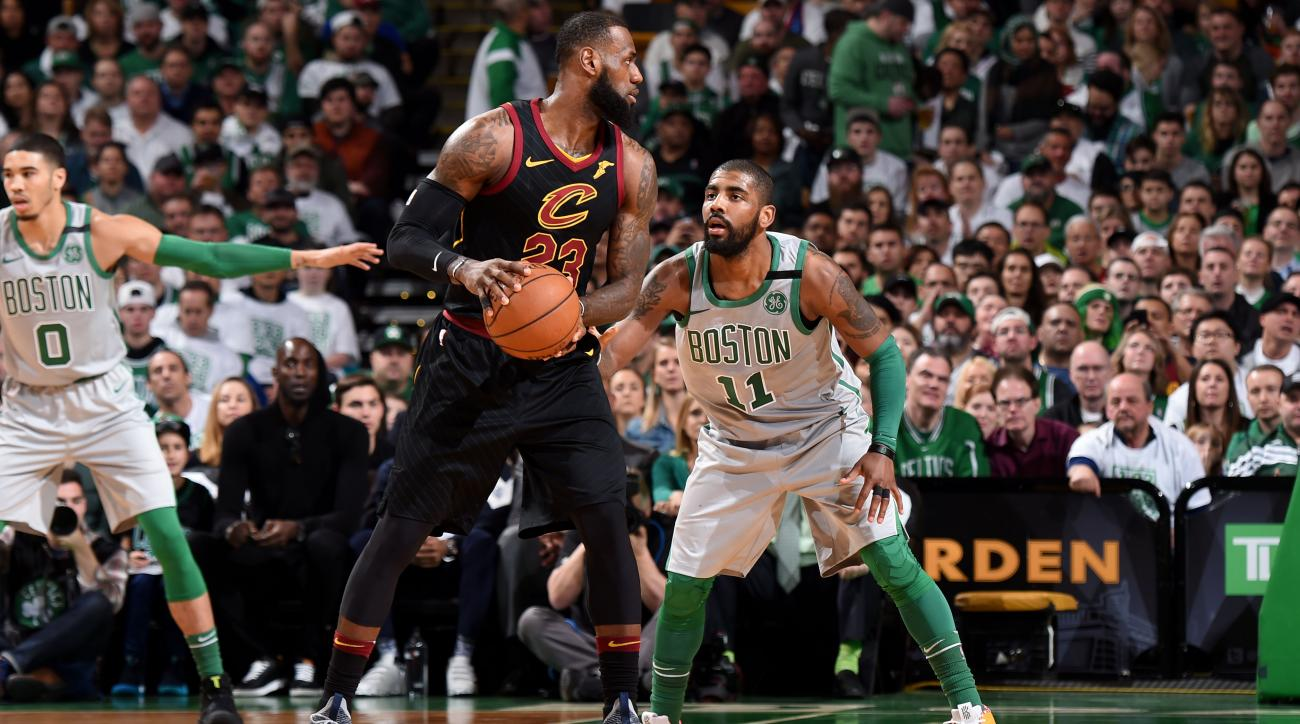 e987f8d3211f LeBron James told Cavaliers not to trade Kyrie Irving to Celtics ...