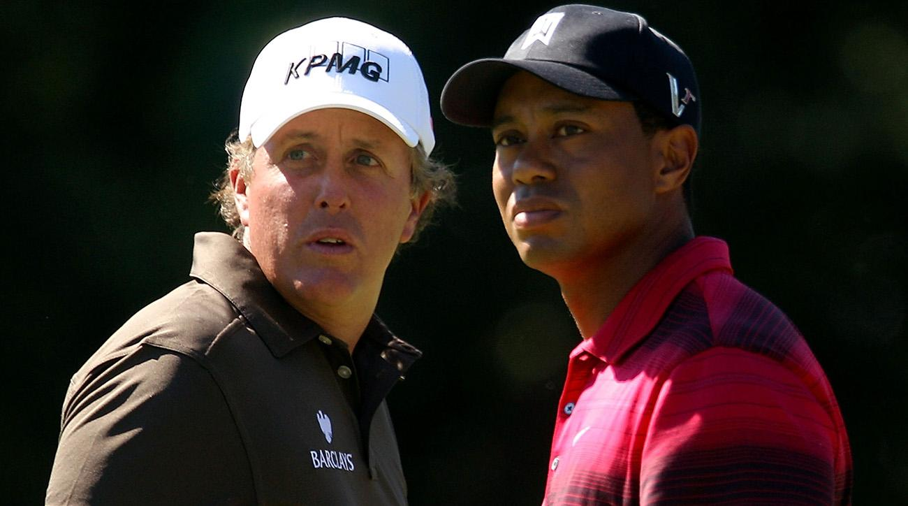 Phil Mickelson vs. Tiger Woods