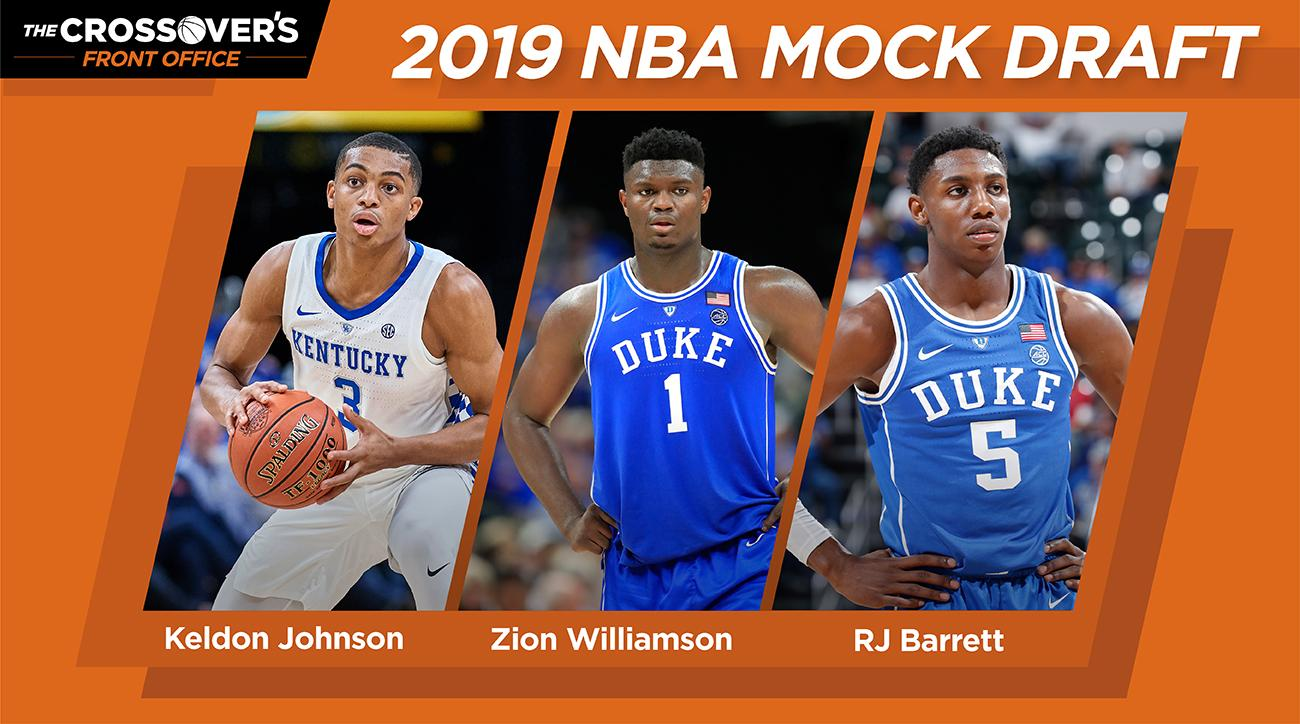NBA Draft 2019: Zion Williamson, RJ Barrett top projections