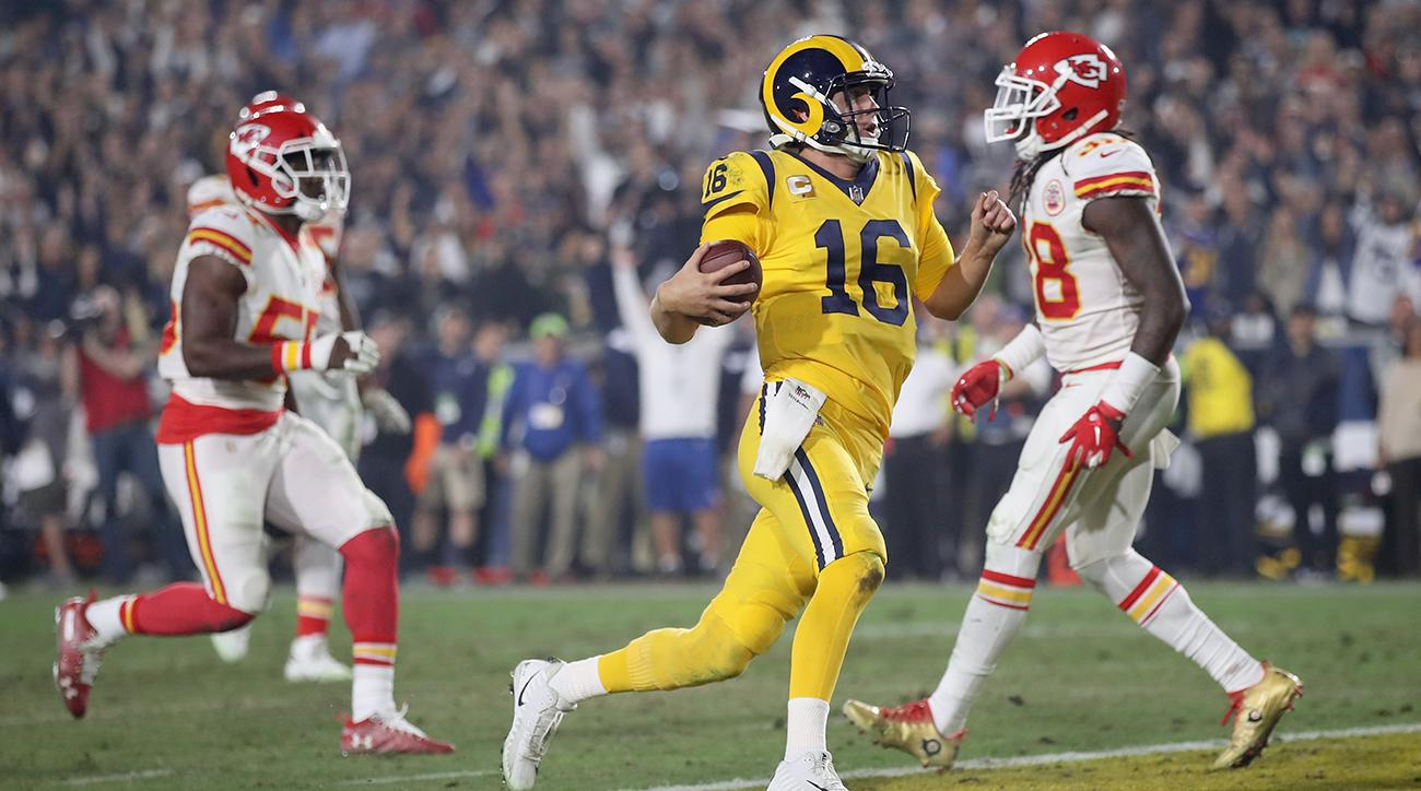 Rams QB Jared Goff vs. Chiefs