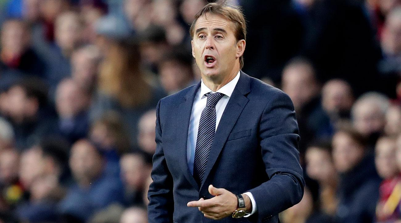 Julen Lopetegui was fired as manager of Real Madrid