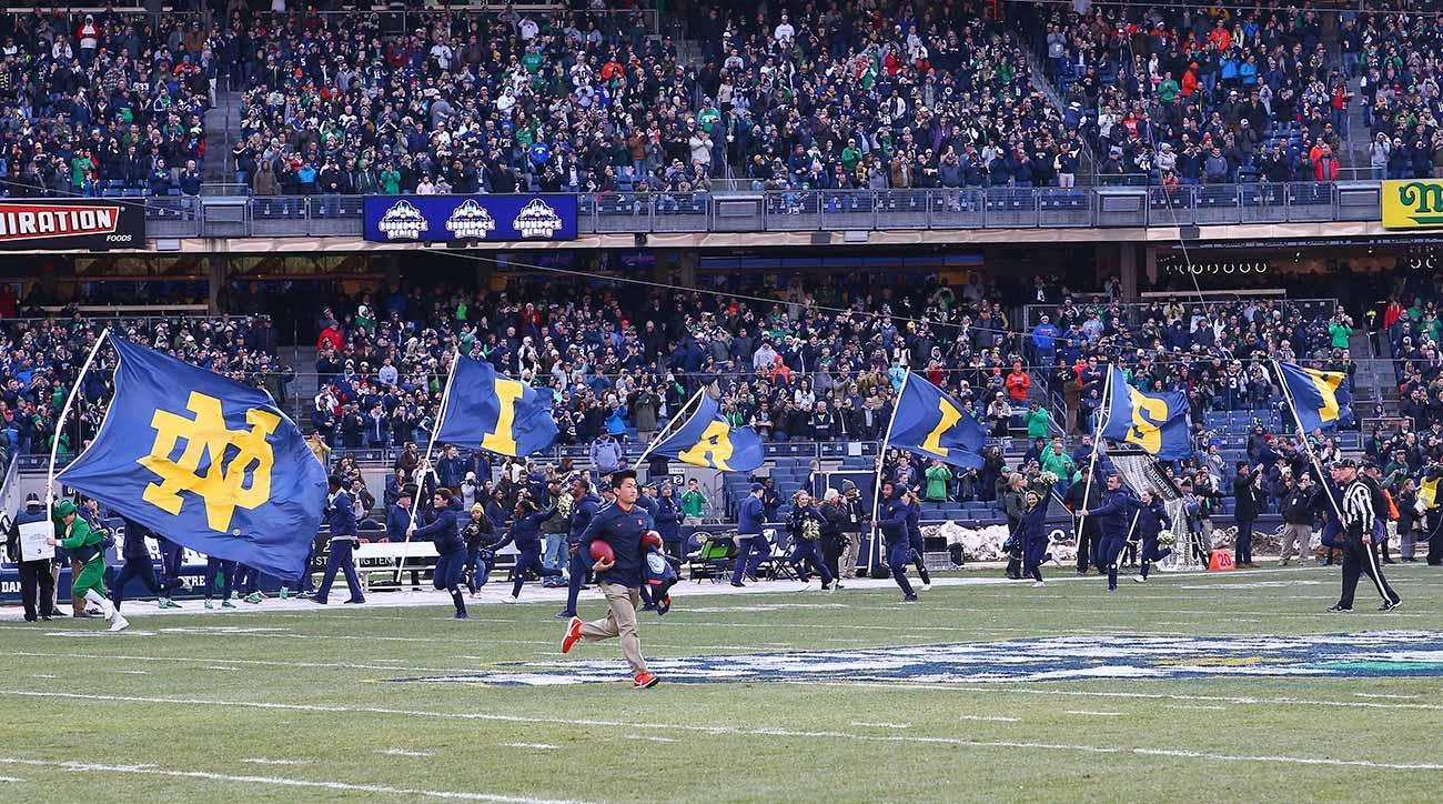 4da715d46a2 Notre Dame Pulled Off Its Yankee Stadium Showcase as Only Notre Dame Can