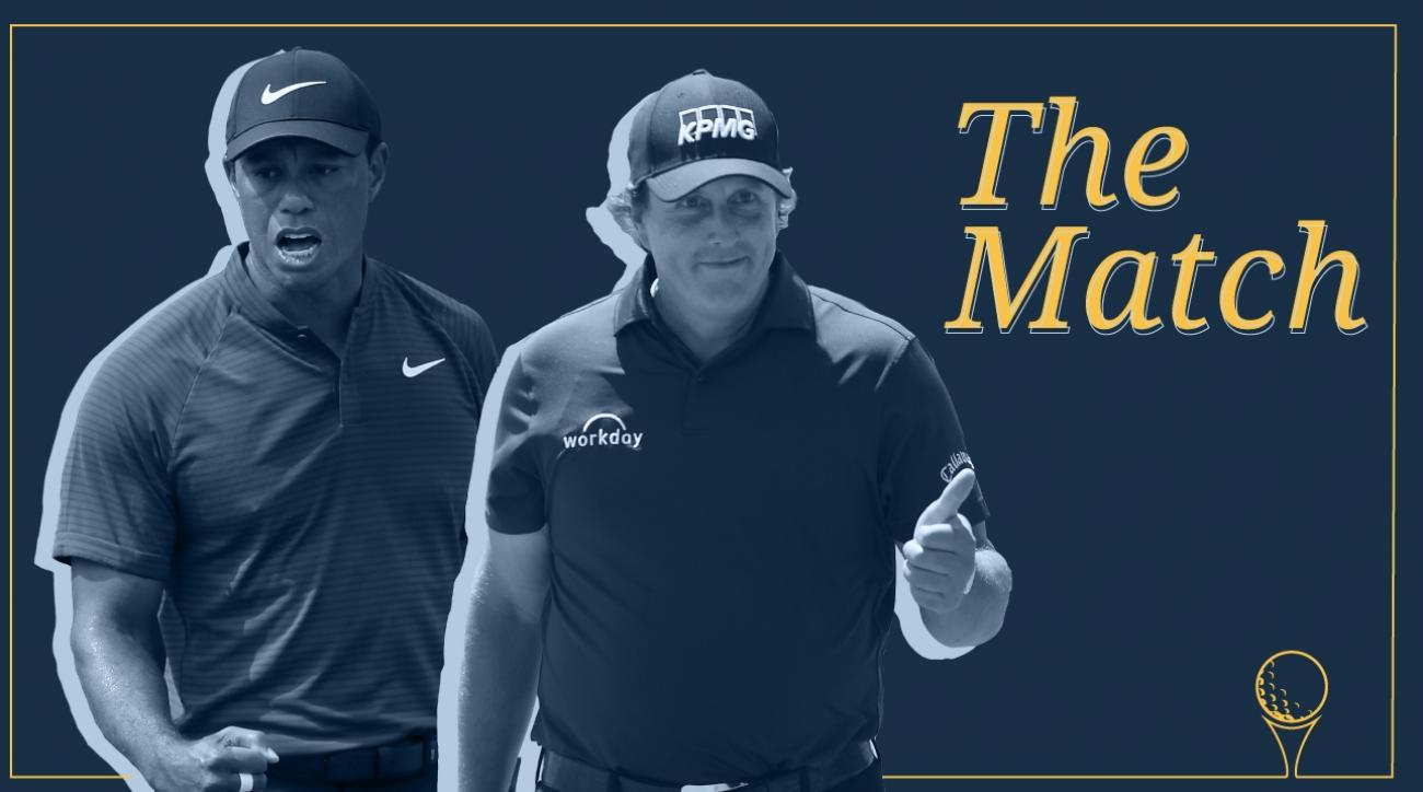 Tiger Woods phil mickelson the match head to head record