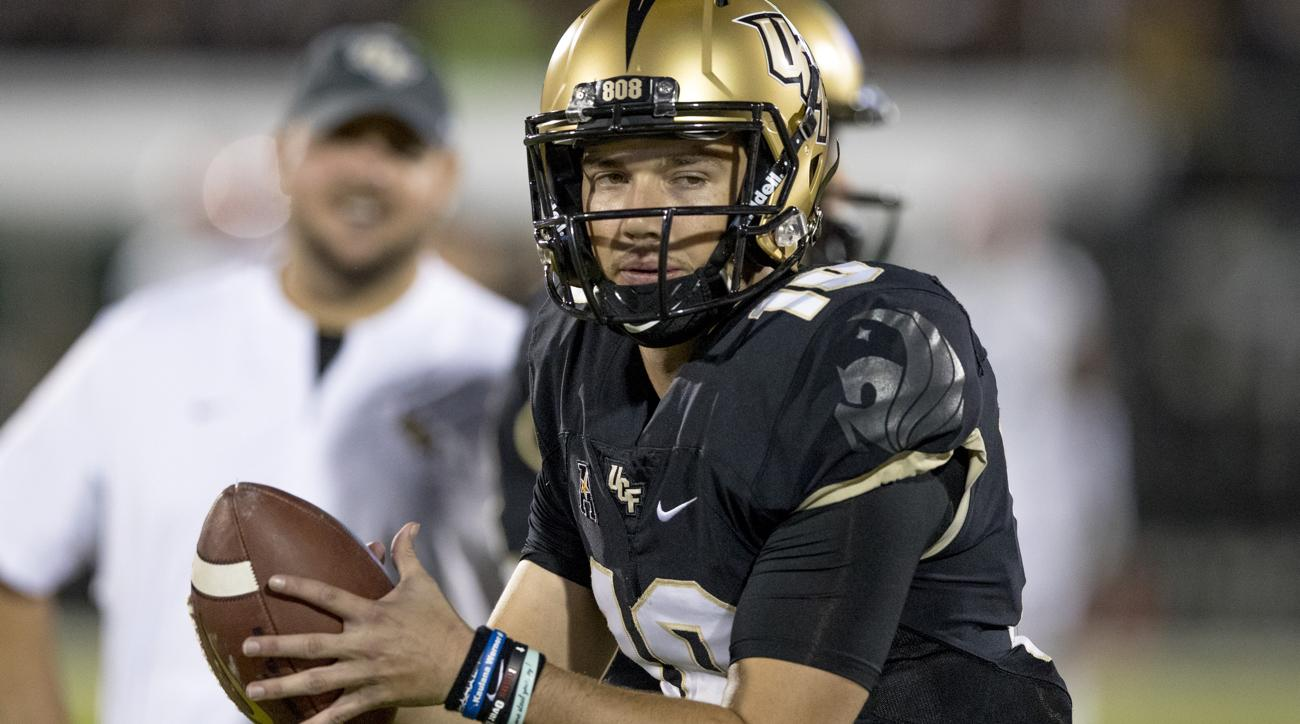 newest cc633 f7eed McKenzie Milton injury: UCF QB leaves game with right leg ...