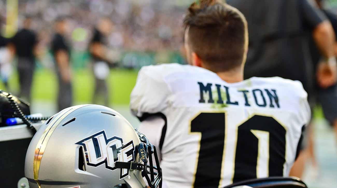 Mckenzie Milton Injury Ucf S Season Playoff Hopes In Flux Si Com
