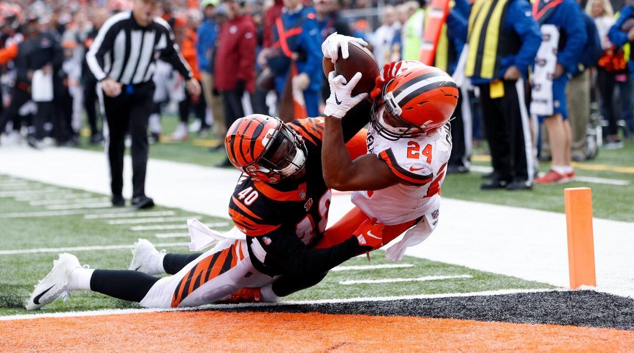 dfeb415c9 Browns vs. Bengals  Cleveland offense dominates AFC North rival