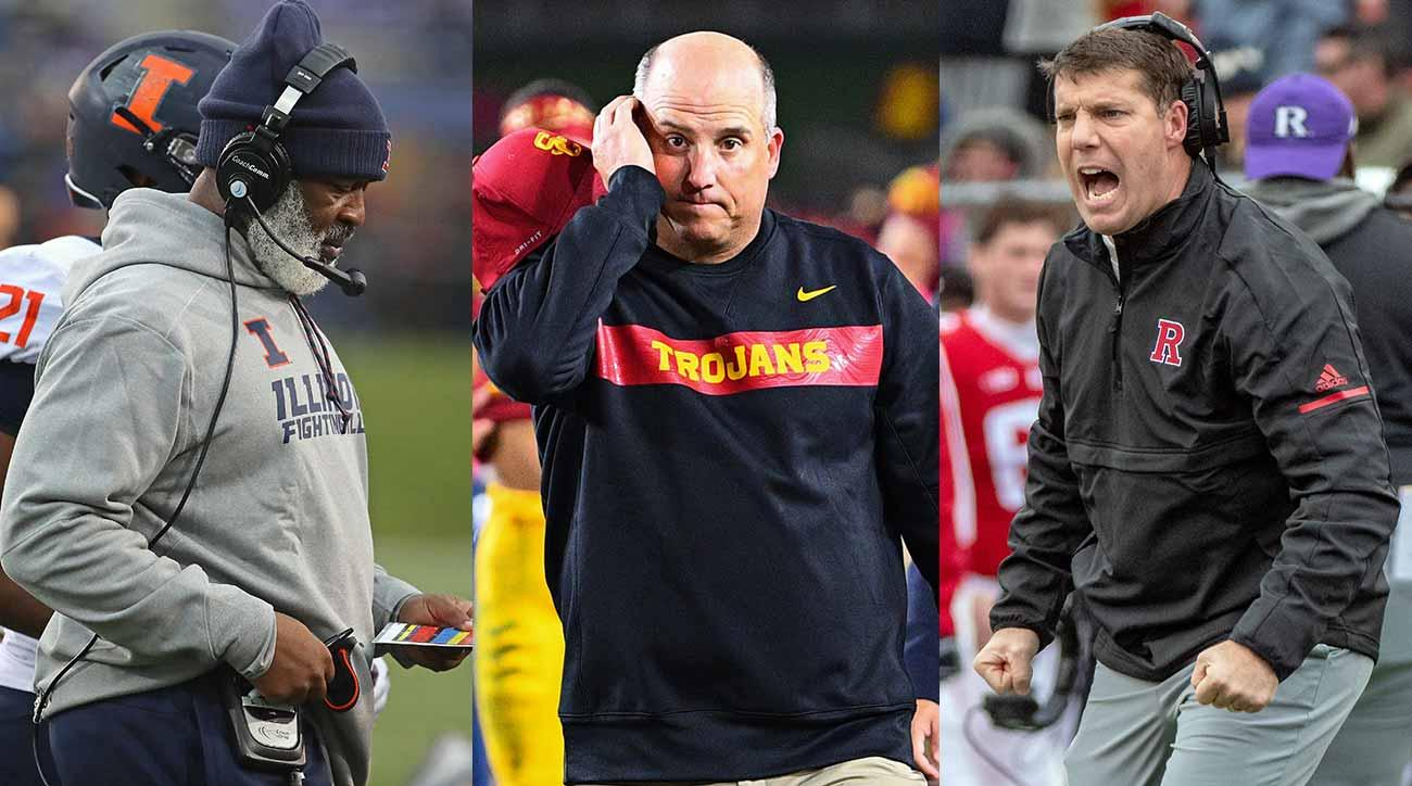 Clay Helton, Lovie Smith, Chris Ash and college football's coaching carousel