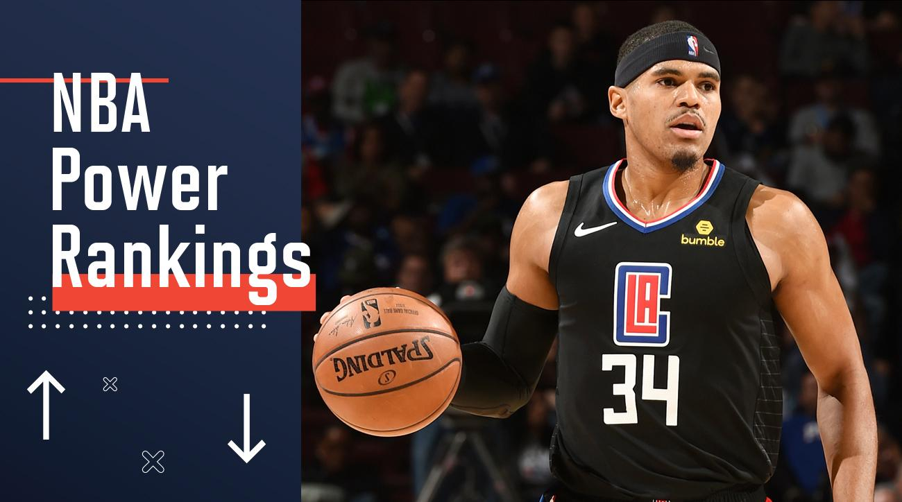 5eb00f4815bf NBA Power Rankings  The Starless Clippers Continue to Shine Against All Odds