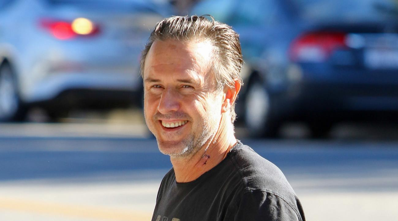 David Arquette wrestling: Interview on Nick Gage death match