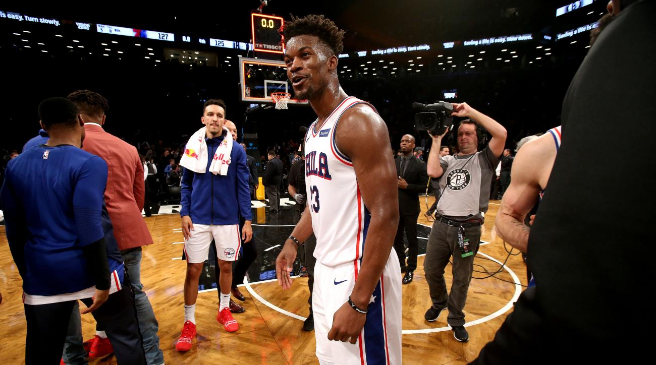 The Sparks Between Jimmy Butler and the Sixers Are Undeniable