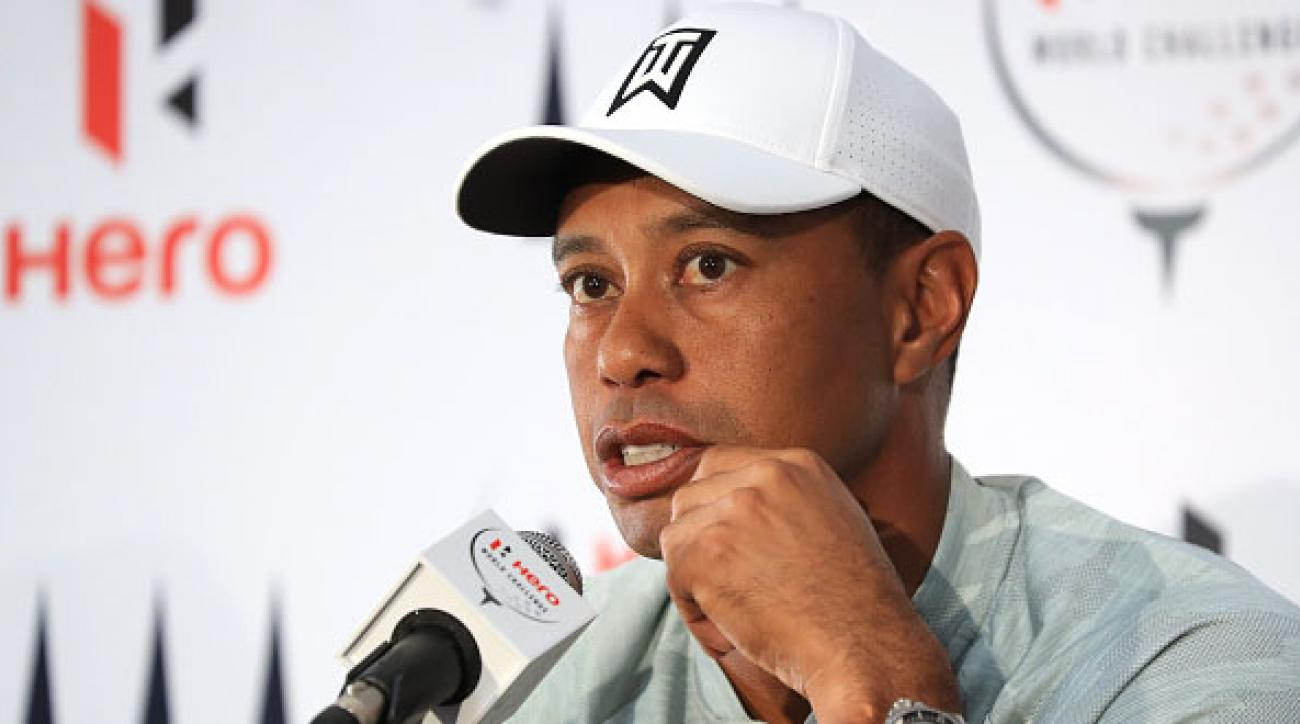 Tiger Woods talks fatigue