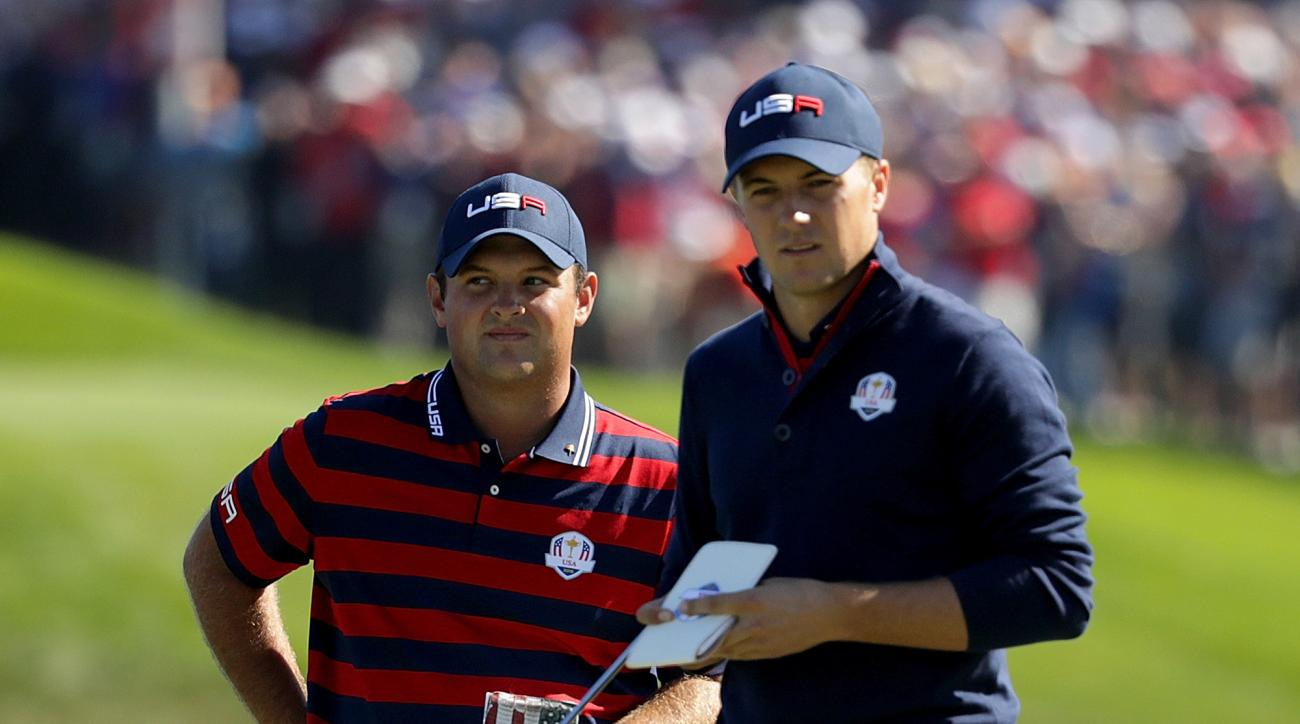 Patrick Reed Jordan Spieth ryder cup le golf national call