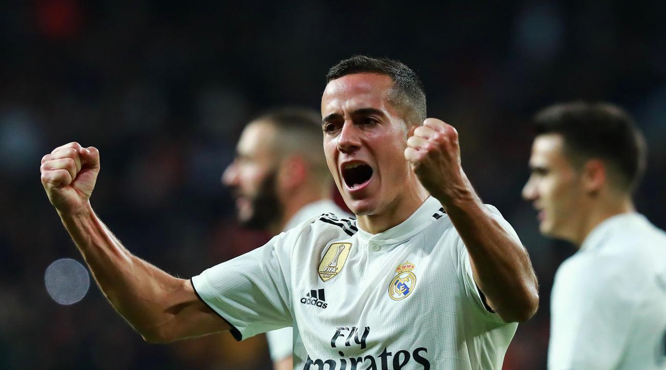 Real Madrid valencia lucas vazquez