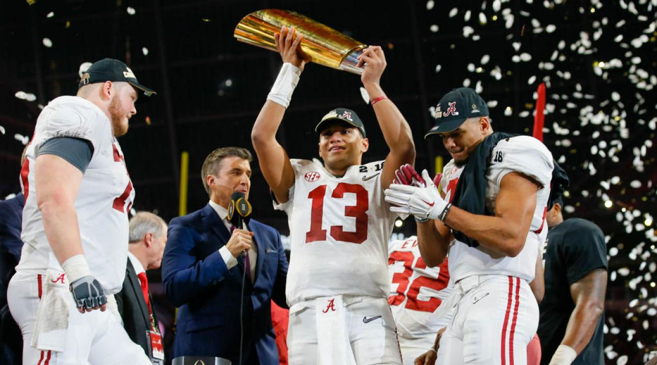 COLLEGE FOOTBALL: JAN 08 CFP National Championship