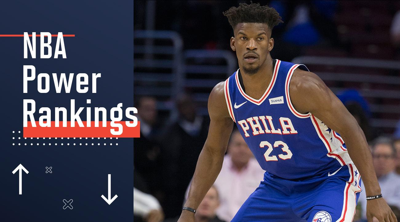 4c434222a16 NBA Power Rankings  Jimmy Butler and the Sixers Are Blocking Out the Noise