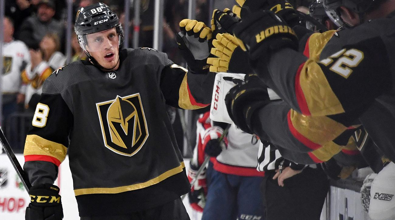 Nate Schmidt, Las Vegas Golden Knights top Capitals 5-3 | SI.com