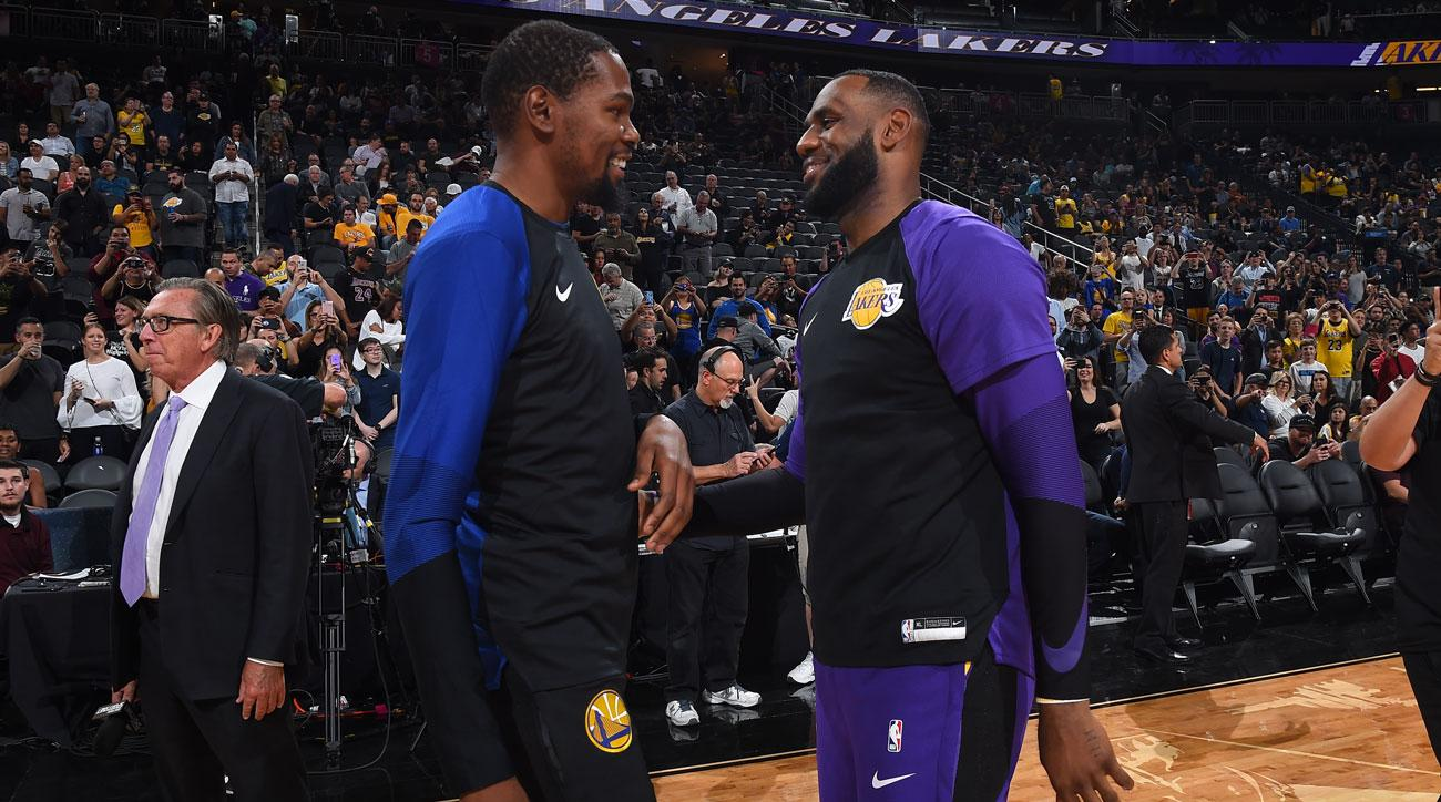 ef83e11f7faf Kevin Durant says environment around Lakers  LeBron James  toxic ...
