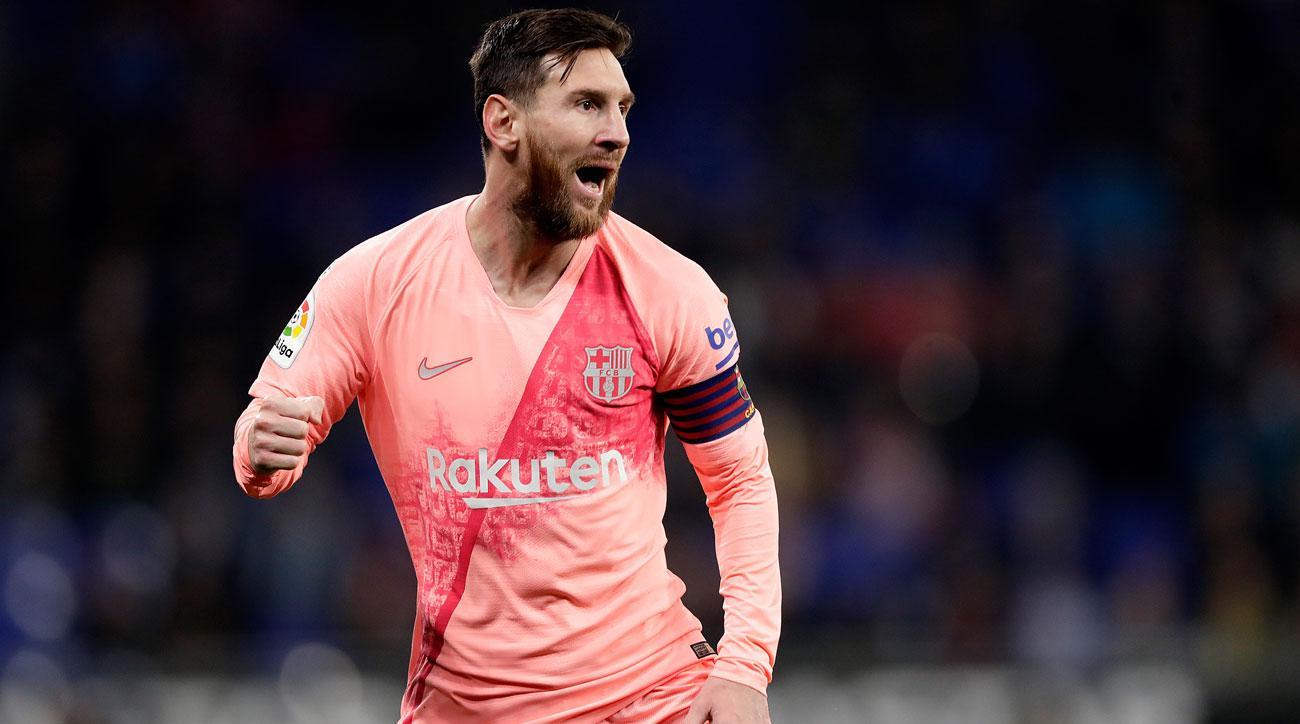 WATCH: Messi Scores Two Perfect Free-Kick Goals vs. Espanyol