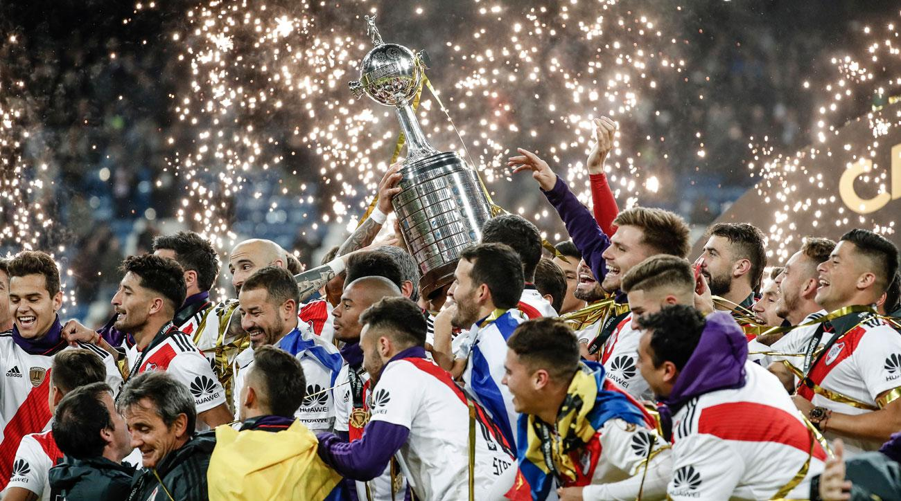 River Plate wins the Copa Libertadores