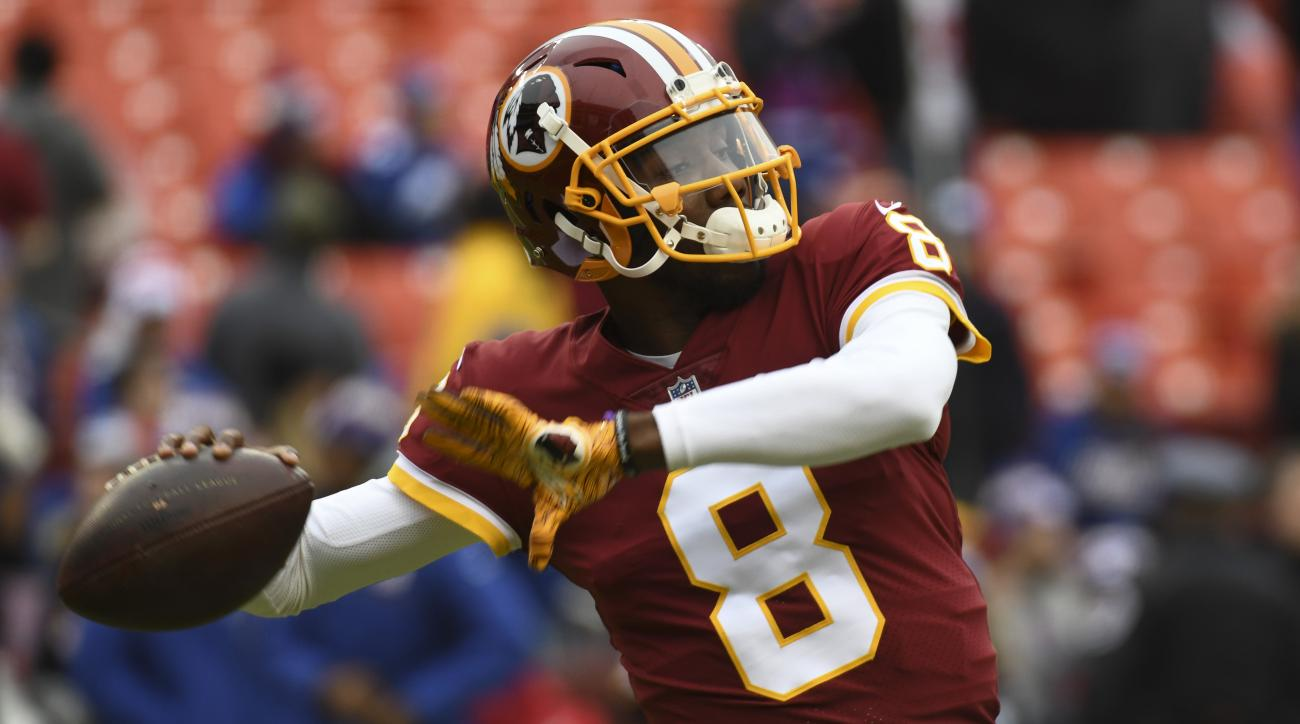 Josh Johnson: Redskins QB plays Madden to learn teammates' names