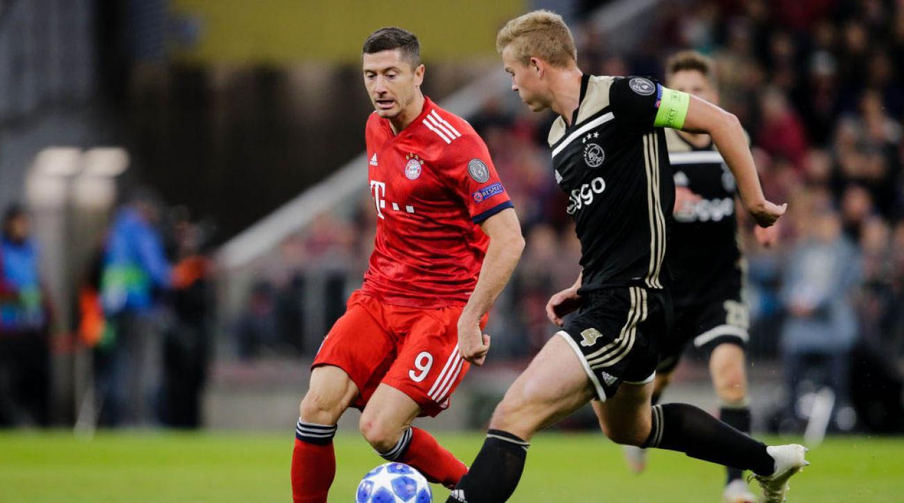 Bayern Munich Ajax Live Stream Watch Itok Vs Online Tv Channel Time Si Com