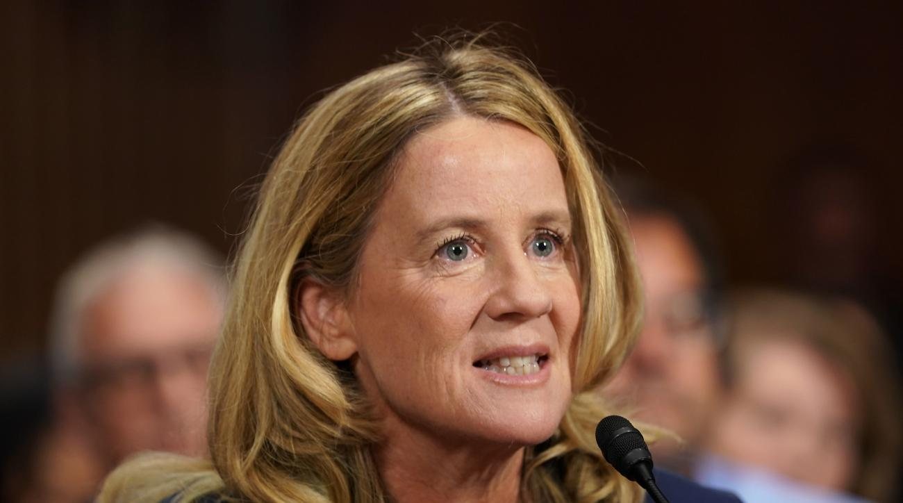 Christine Blasey Ford Introduces Rachael Denhollander as SI's Inspiration of the Year