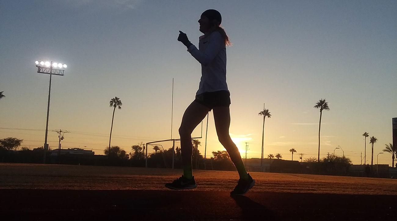 camille herron 24 hour run world record desert soltice