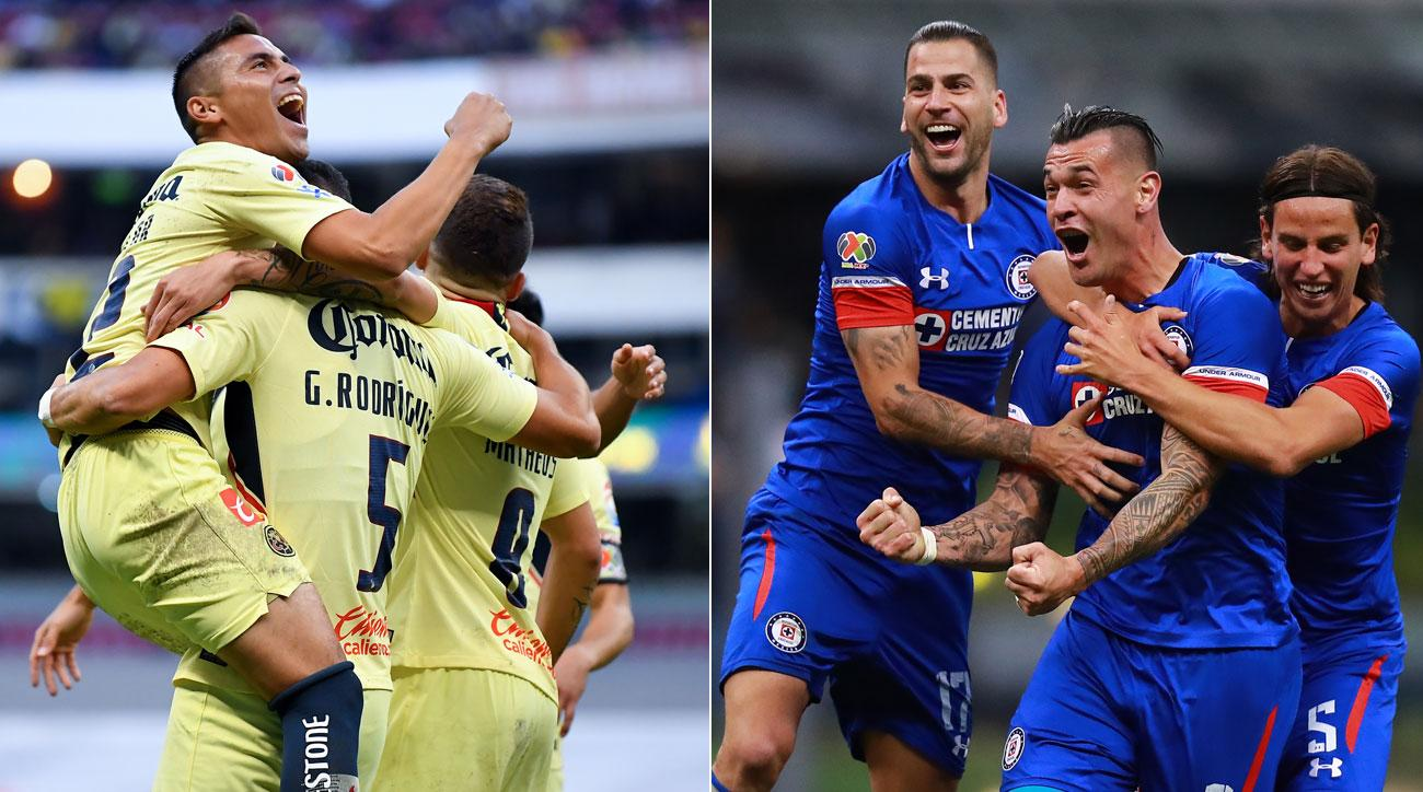 Liga Mx Apertura Final Cruz Azul America Boast Stark Differences