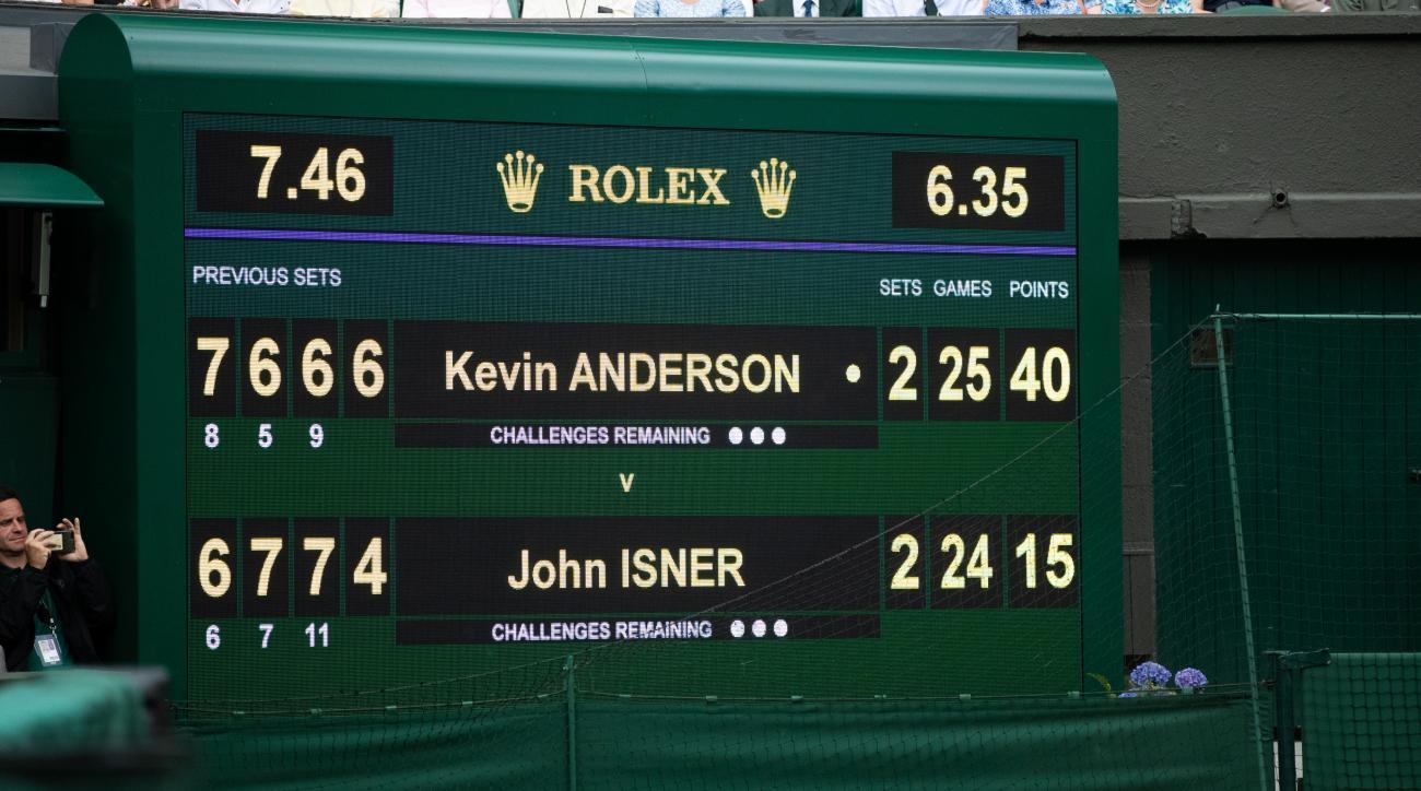 best of five sets tennis grand slam majors wimbledon