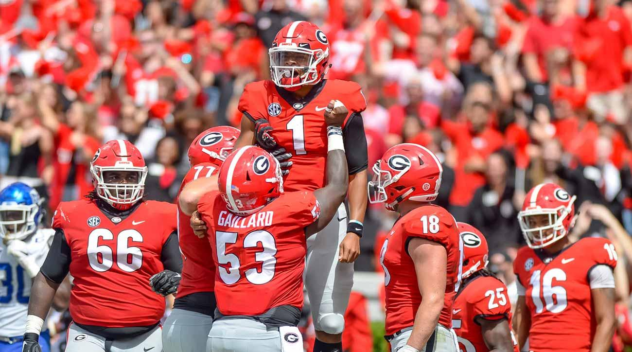 Justin Fields transfer news: Ohio State, Oklahoma rumored landing spots for Georgia QB