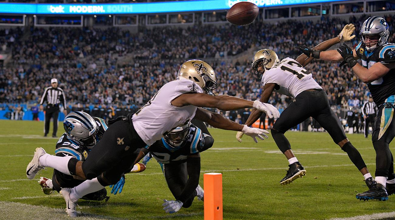 Panthers vs. Saints