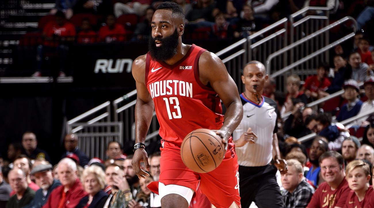 3144b8598fe8 NBA Christmas  James Harden leads Rockets past Thunder