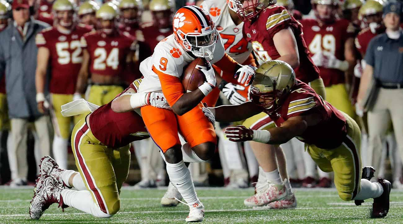 Travis Etienne: Clemson running back carrying load entering College Football Playoff