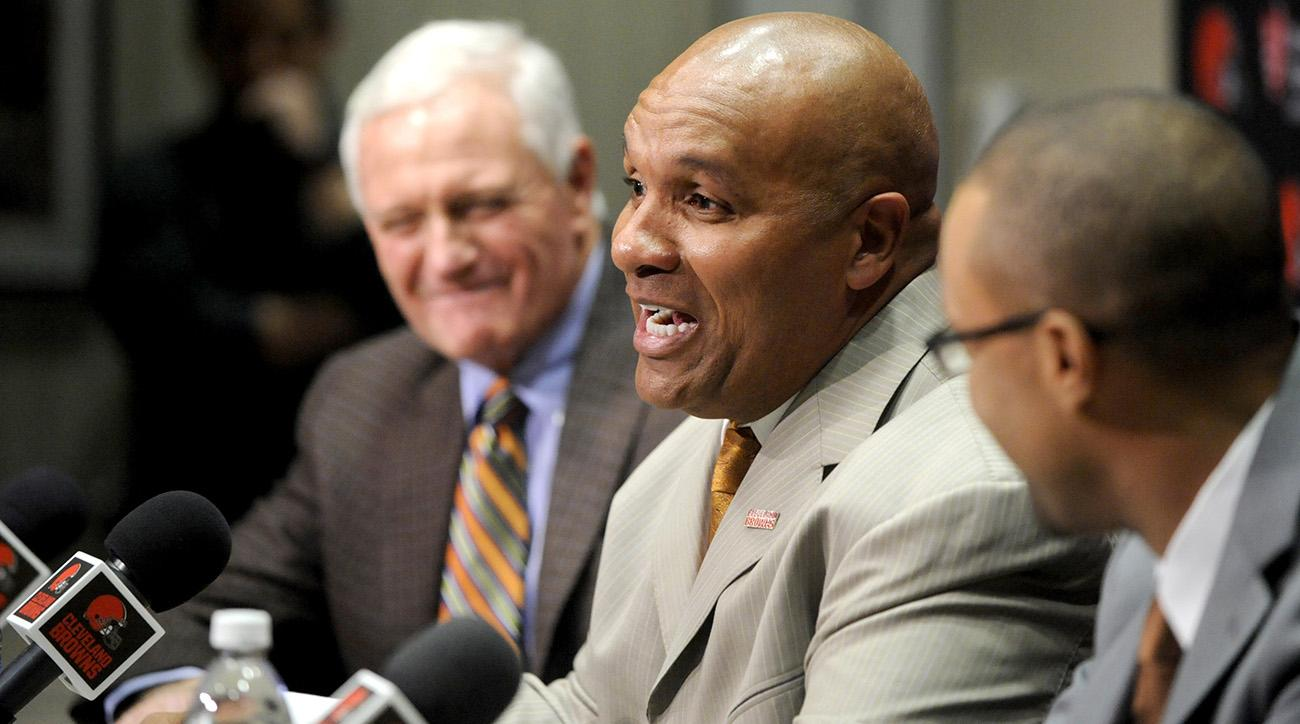 Hue Jackson Introductory Press Conference