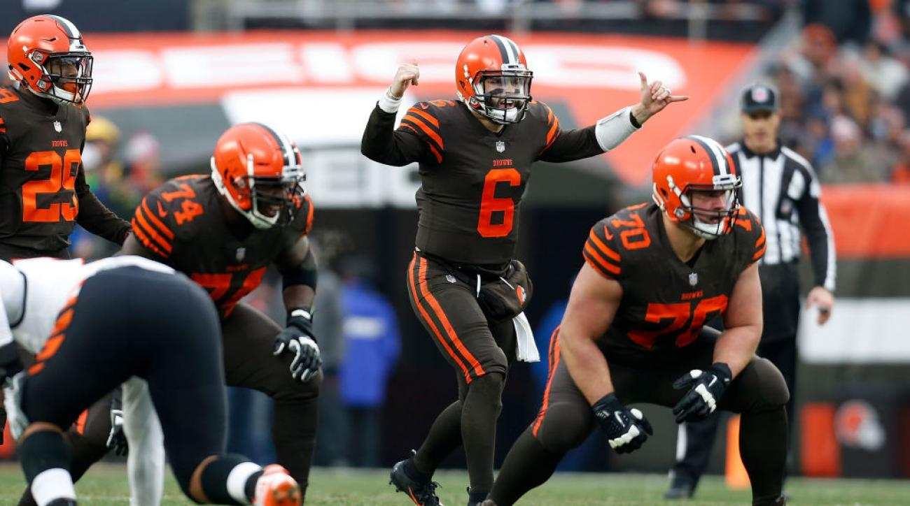 Baker Mayfield fine  Cleveland Browns QB penalized for gesture  c6c73b30c