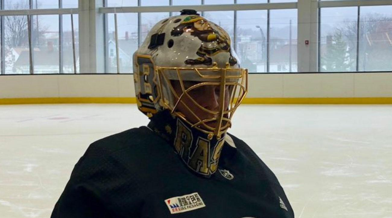 buy online fbdfc af6b2 2019 NHL Winter Classic: Bruins' Tuukka Rask had custom ...