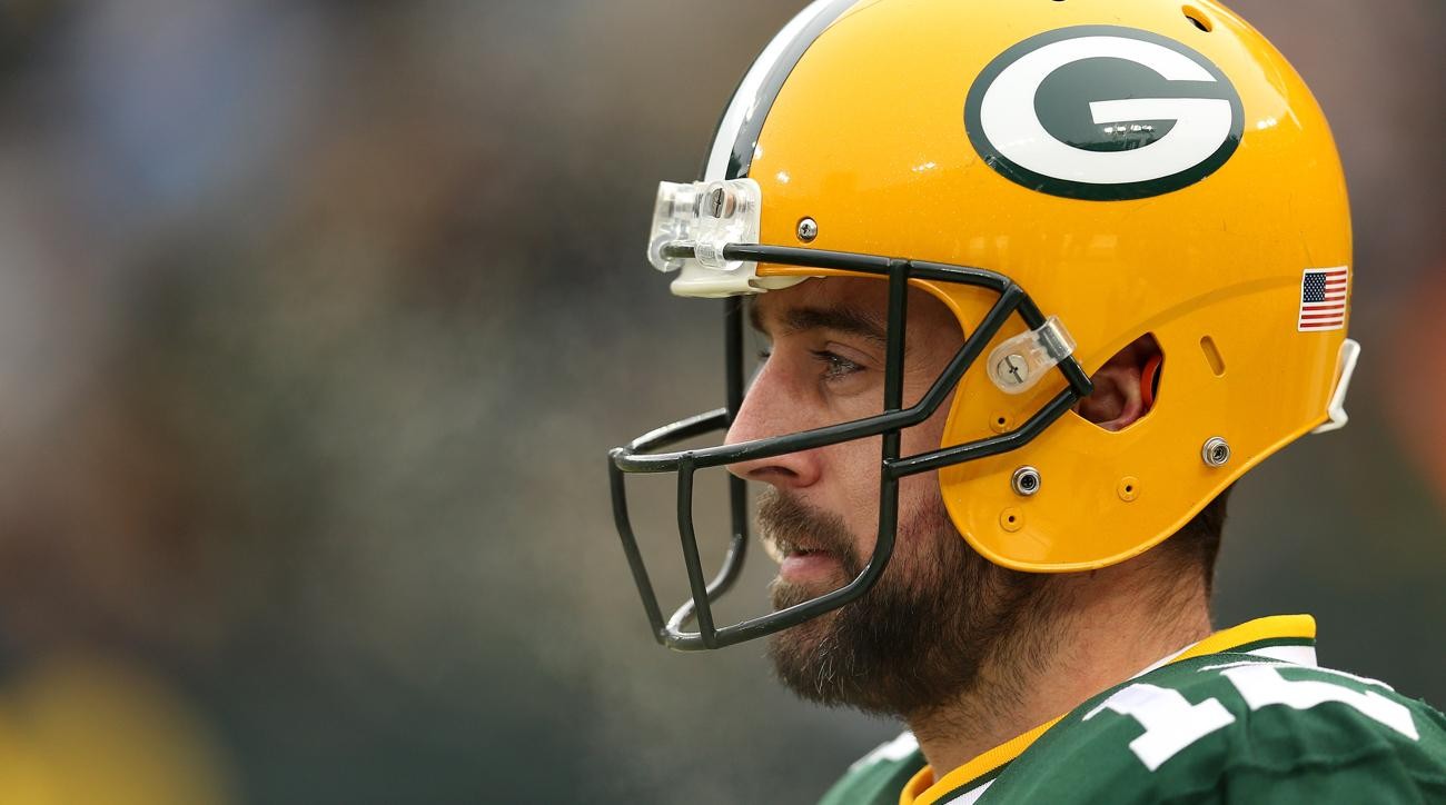 aaron rodgers concussion packers lions