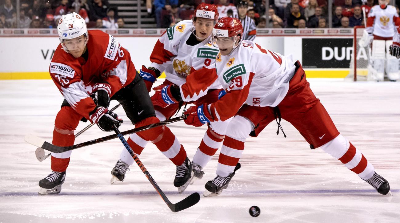 Switzerland v Russia - 2019 IIHF World Junior Championship