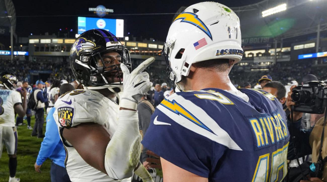 Baltimore Raves vs Los Angeles Chargers