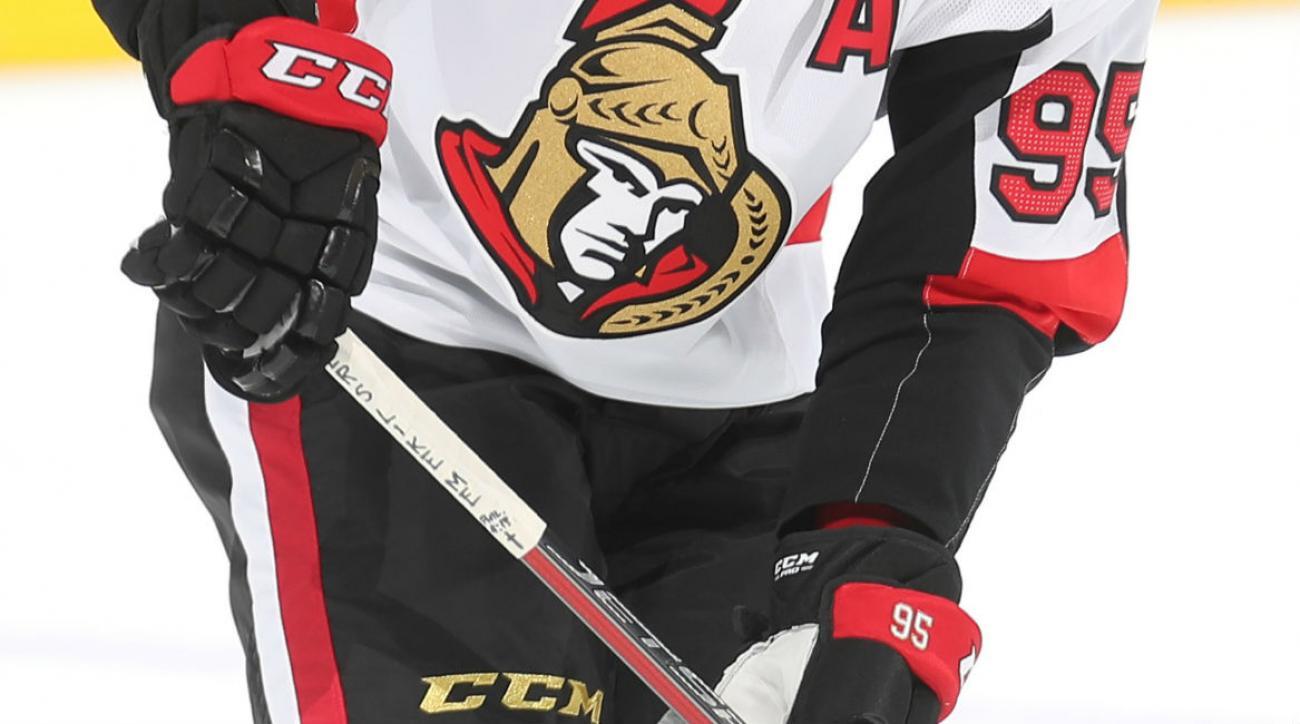 08d23923 Matt Duchene: Ottawa Senators center has deeply personalized sticks ...