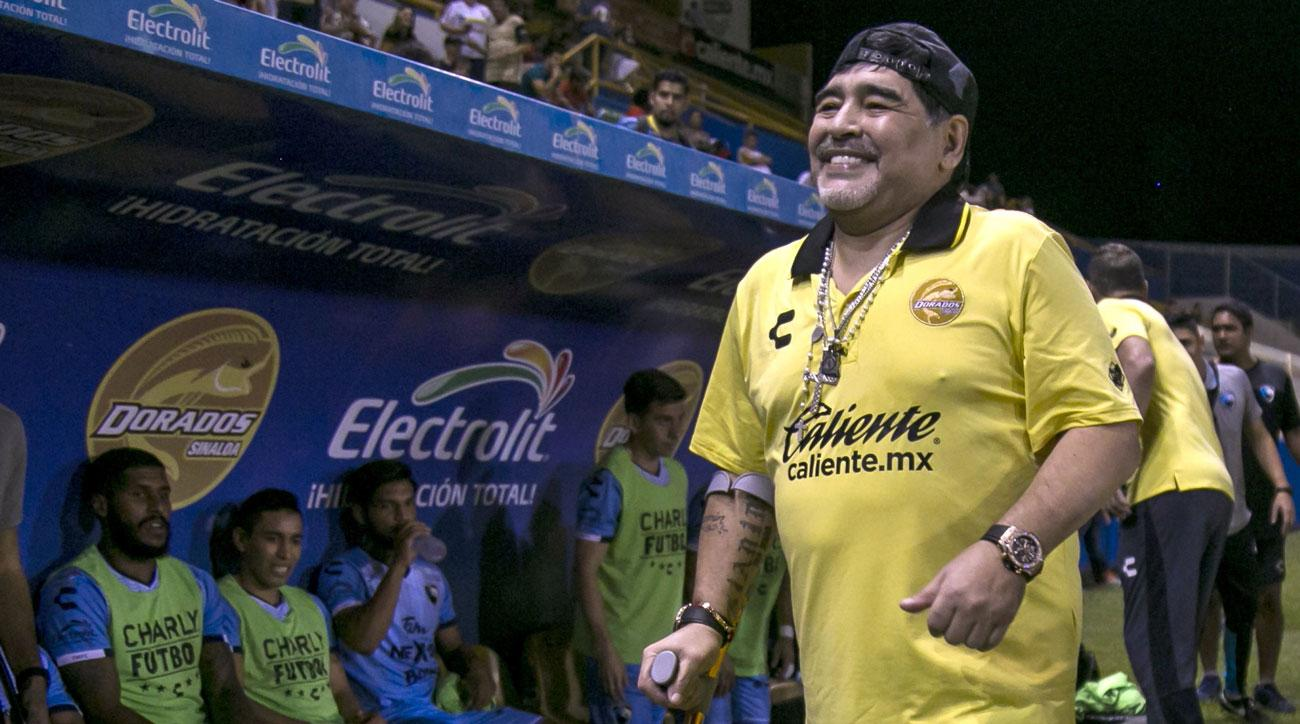 Diego Maradona reportedly admitted to hospital with stomach bleeding