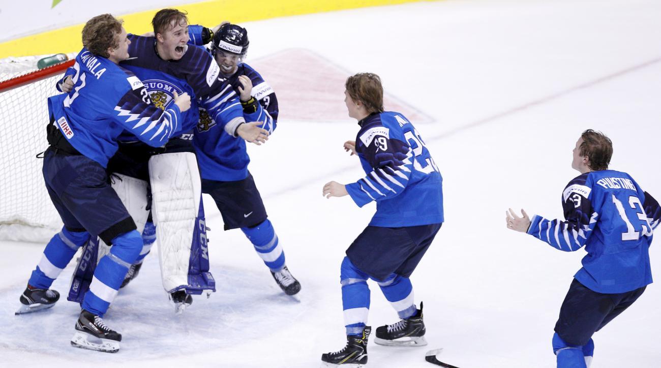 USA v Finland: Gold Medal Game - 2019 IIHF World Junior Championship