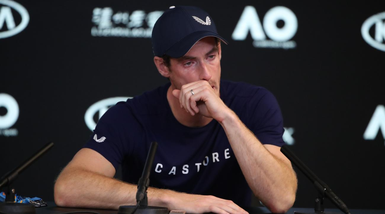 Andy Murray retire hip australian open