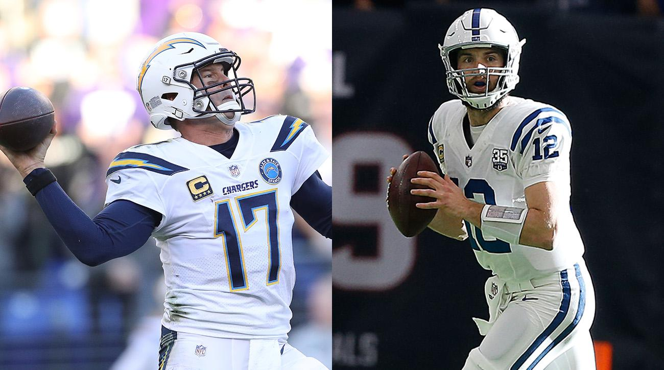 Philip Rivers and Andrew Luck