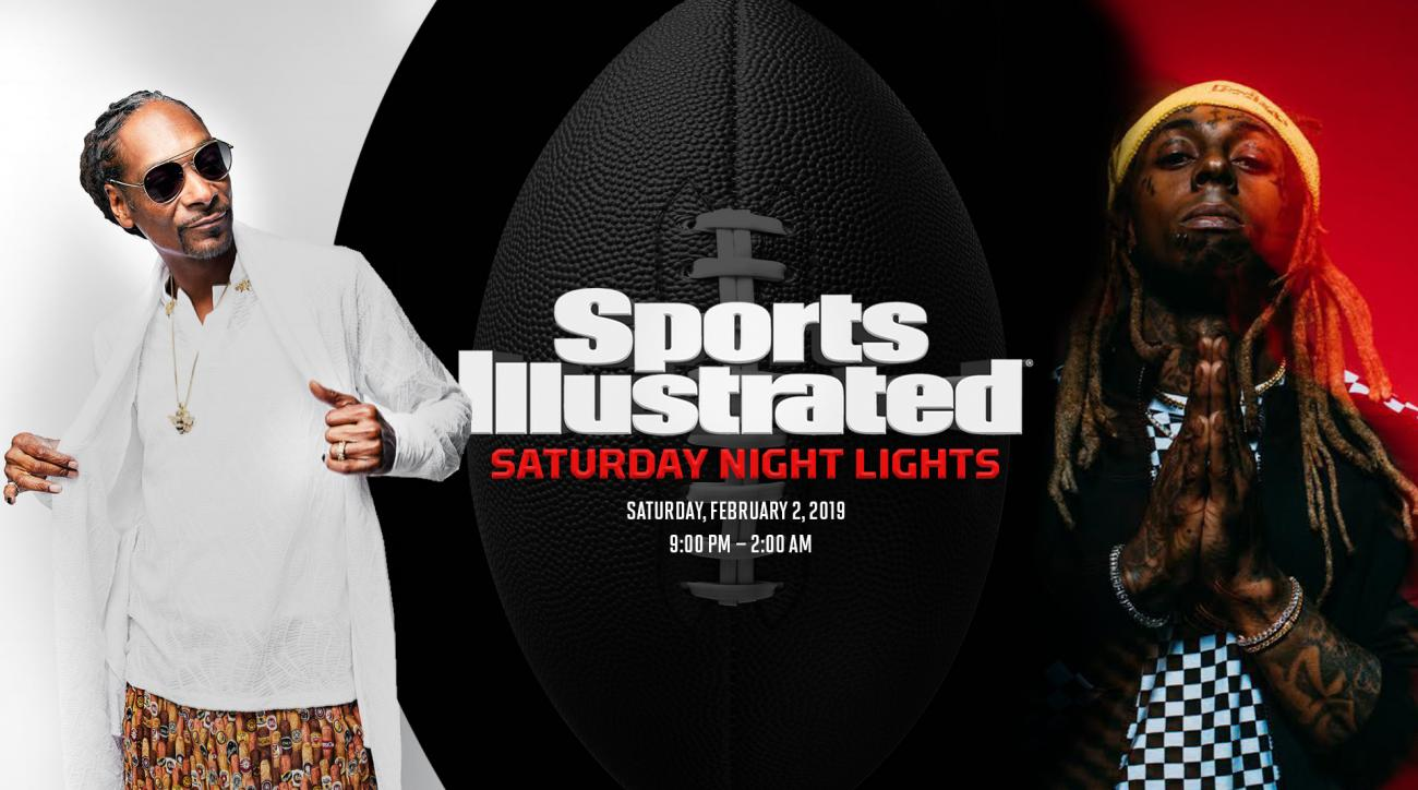 Sports Illustrated Saturday Night Lights Party in Atlanta