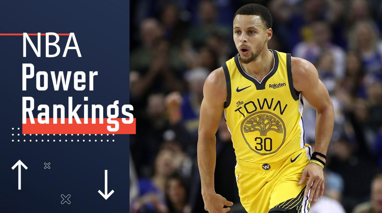 a0dede0eb7c4 NBA Power Rankings  Stepen Curry and the Warriors are on the rise ...