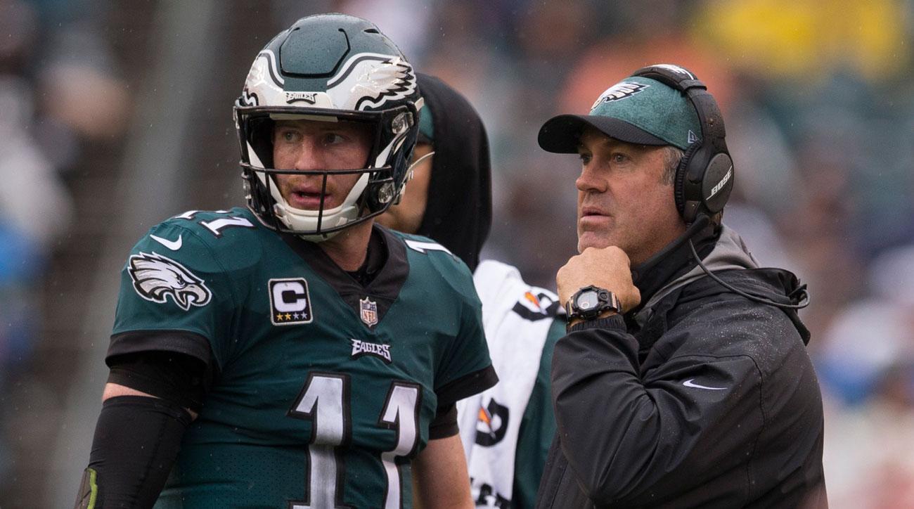 Eagles Coach Doug Pederson Says Carson Wentz Is Philadelphias Quarterback Going Forward