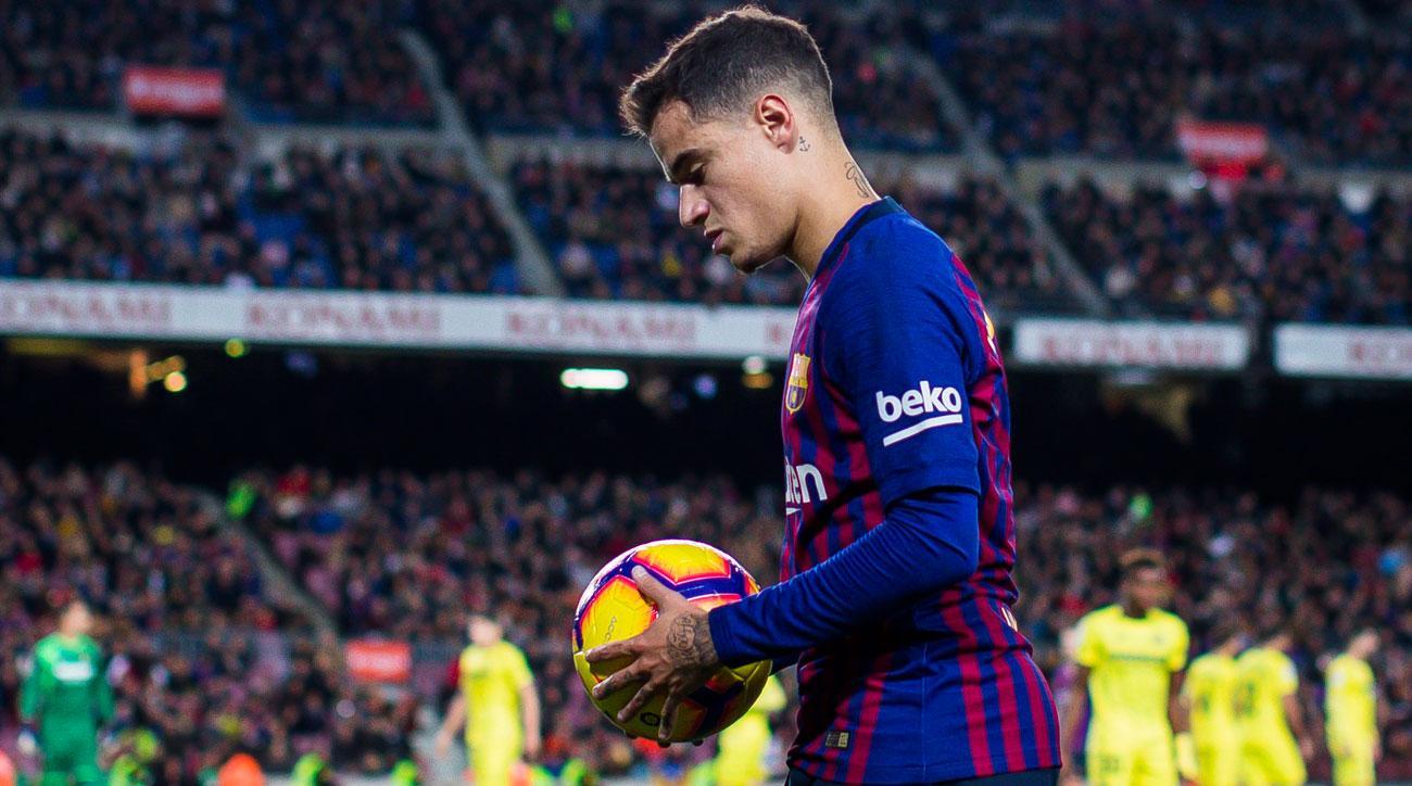 Philippe Coutinho has struggled this season at Barcelona